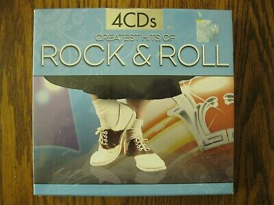 Greatest hits of Rock & Roll NEW SEALED 4 CDs 2009 Madacy Entertainment