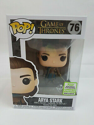 Funko Pop! Game of Thrones Arya Stark ECCC Shared Sticker