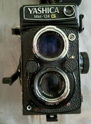Yashica Mat 124G Medium Format TLR Film Camera