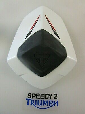 Triumph Speed Triple 1050 R S & Rs Rear Seat Cowl Crystal White A9708133 Nw 2016