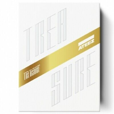 ATEEZ 1st Album [TREASURE EP.FIN : All To Action] Z Ver. CD+Book+Card+Post+etc
