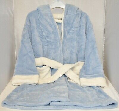 Children's Supersoft Dressing Gown Blue 3-4 Years 5-6 Years