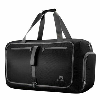 Lightweight 60L Large Foldable Sport Gym Duffle Bag Waterproof Travel Duffel Bag