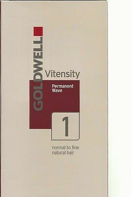 Goldwell Vitensity Permanant Wave 1 Normal To Fine Hair New Free P&P