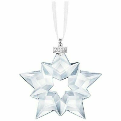 2019 NEW Swarovski Crystal ANNUAL EDITION LARGE CHRISTMAS Star ORNAMENT 5427990