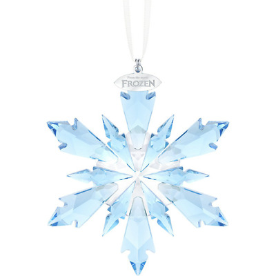Swarovski Frozen Crystal ANNUAL EDITION LARGE CHRISTMAS Star ORNAMENT 5286457