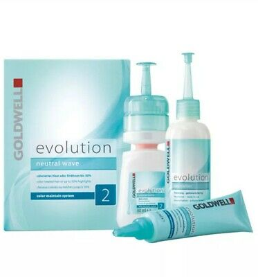 Goldwell Evolution Neutral Wave 2 Color Maintain System New Free  P&P