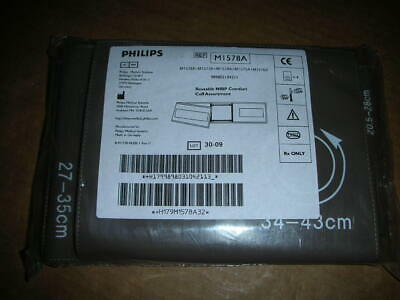 PHILIPS M1578A Comfort Care Blood Pressure Cuffs Adult KIT of 4 Sizes 4-Pcs NEW!