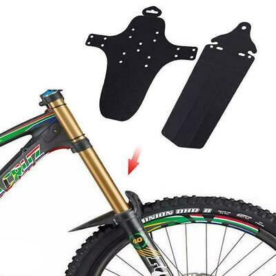 1 Set Cycling Mountain Bike Bicycle Front + Rear Fenders Mudguard Guards MT A6H6