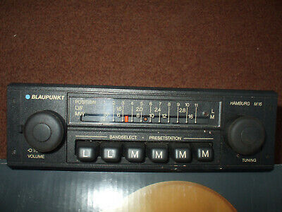 blaupunkt hamburg m16 car radio porsche bmw vw mercedes