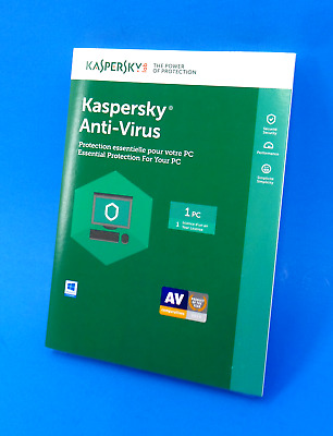 Kaspersky Lab Anti-Virus - Essential Protection for 1 PC - 1 year #7614