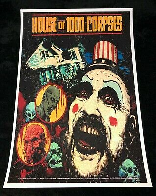 CAPTAIN SPAULDING 12x18 SID HAIG MOVIE POSTER ROB ZOMBIE 3 FROM HELL REJECTS 4