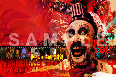 CAPTAIN SPAULDING 12x18 SID HAIG MOVIE POSTER ROB ZOMBIE 3 FROM HELL REJECTS 7