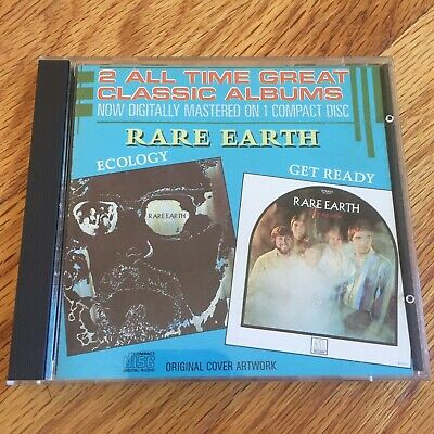 Rare Earth – Get Ready / Ecology CD (Compilation, Motown Records)