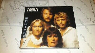 ABBA - The Definitive Collection 2 CD Gold Greatest Hits Best Of The Best