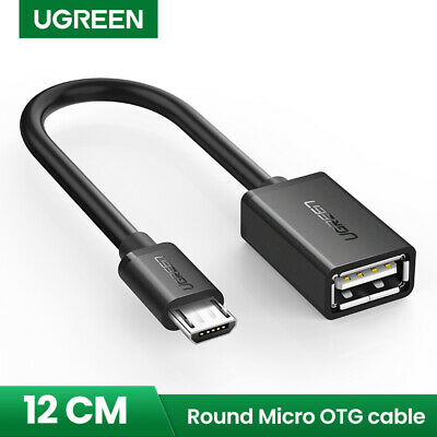 UGREEN Micro USB 2.0 OTG Cable Adapter For Samsung S7, LG G4, Part of Tablets