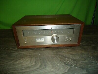 Kenwood KT 5300 stereo tuner with wood