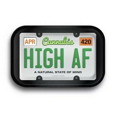 High AF Tin Rolling Tray 11.5 X 4 X .75 in - BRAND NEW