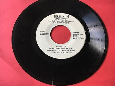 Rudy Ray Moore Comedy 45 Vinyl Record Promo Eddie Murphy Dolemite Adults Only !