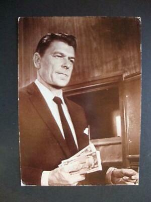 417) Ronald Reagan Hollywood Movie Star And President Of The Us To Be Postcard