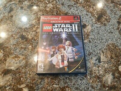 Lego Star Wars 2 The Original Trilogy  - Sony PlayStation 2 PS2 - C+ CONDITION
