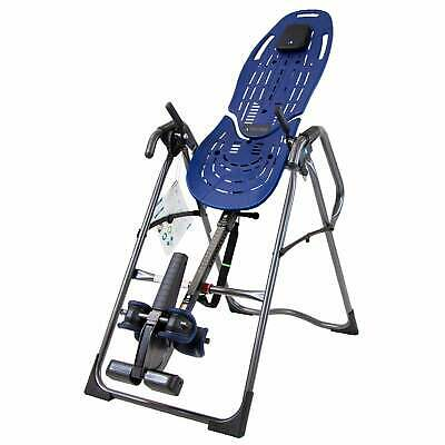 Teeter Inversion Table Pro Deluxe Back Pain Relief Chiropractic Exercise Therapy