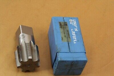 Union Butterfield 1-1//4 x 11-1//2 NPT Extended HSS Interrupted Thread Pipe Tap