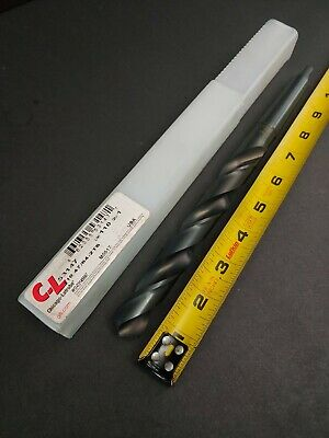 "New Surplus Chicago Latrobe USA Extra Long HSS 1-1//32/"" Taper Shank Drill MT3"