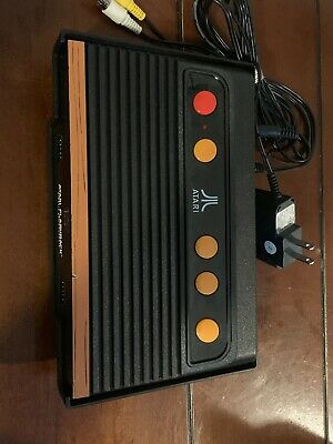 Atari Flashback 8 Gold Classic Game Console ONLY With Av Cables And Power Cord