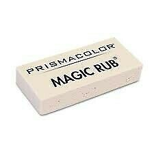 Prismacolor Magic Rub Eraser Bulk Buy 6 Pack