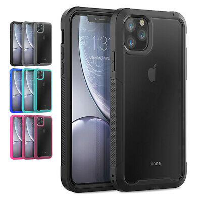 For iPhone 11 Xs Max 6s 7 8 Plus Shockproof Full Body 360°Protective Hard Case