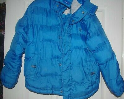 Boys Timberland age 10,Blue,padded with detachable hood