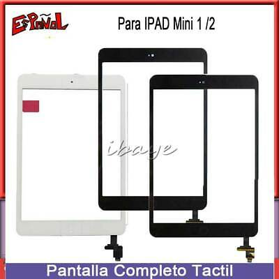 Pantalla Tactil Para iPad Mini 1/2 Táctil Digitalizador Screen Touch Cristal+IC