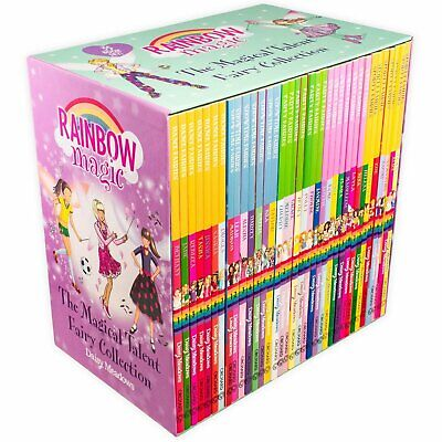 NEW Rainbow Magic Magical Talent Fairy Collection 35 Books Library Kids Gift Set