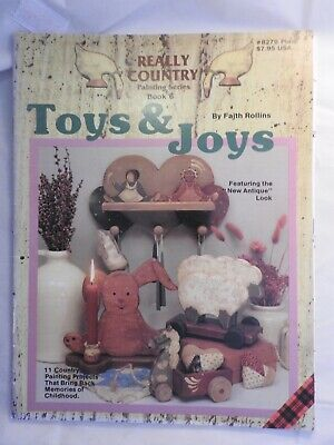 Really Country Series #6 Toys & Joys  folk art tole painting pattern #8279