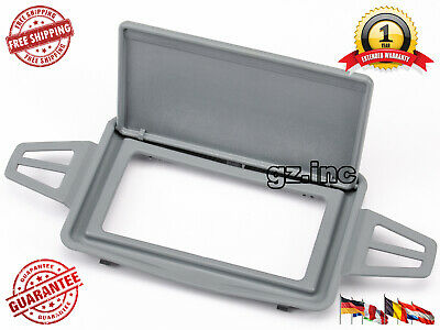 2x Sun Visor Shade Mirror Cover Gray Color For Mercedes W210 W211 L+R Sides