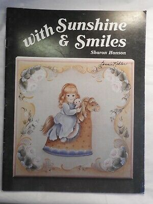 With Sunshine and Smiles - Sharon Hanson - folk art tole painting patterns