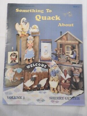 Something to Quack About Vol 1 - Sherry Gunter folk art tole painting pattern