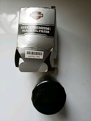 Harley-Davidson SuperPremium5 Black Oil Filter 63731-99A