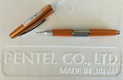 Orange NOS Pentel 5 Sharp Kerry Mechanical Pencil w/ Cap | New! | P1035-FD 0.5mm