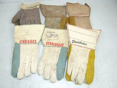 9 Studebaker Gloves Car Truck Tractor Promo Advertising Store Gas Oil Auto