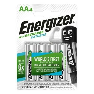 ENERGIZER Batterie Rechargeable NiMH AA 1.2 V Extreme 2300 mAh 4-Blister