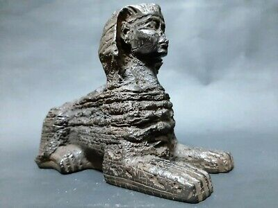 ANCIENT EGYPTIAN ANTIQUES Great SPHINX Statue Pyramids Giza EGYPT STONE