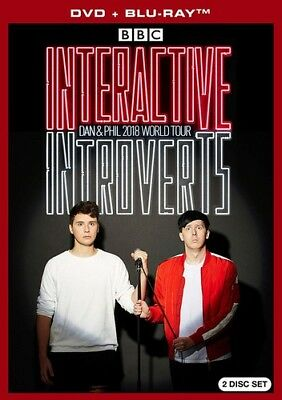 Dan & Phil 2018 World Tour: Interactive Introverts (Blu-ray Used Very Good)