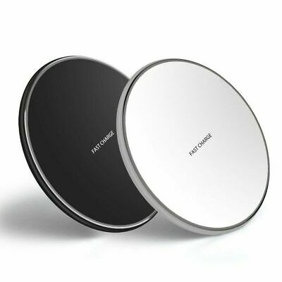 10W Qi Wireless Charger Charging Pad for iPhone 11 Pro Max XS 8 Galaxy Note 9 10