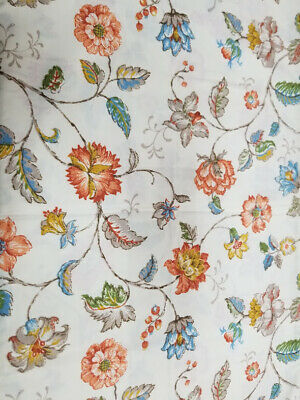 Vintage Pequot Floral No Iron Percale Standard Size Pair Of Pillowcases