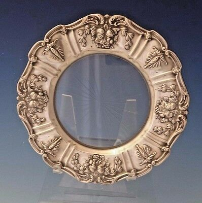 Francis I by Reed & Barton Old Sterling Silver Lemon Plate w/Glass #567 (#0157)