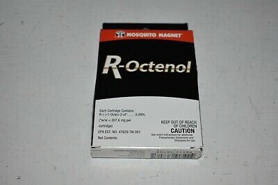 R-Octenol attractant -Mosquito Magnet X3 Cartridges