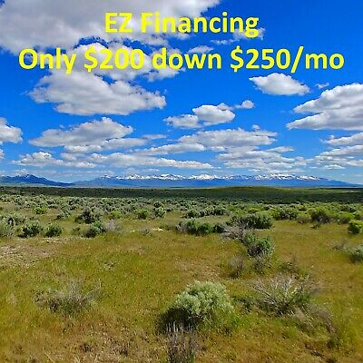 Must See! 40 Acre Elko Nevada Ranch Cowboy Land Near Idaho Utah Great Location!