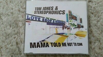 Tom Jones & Stereophonics - Mama Told Me Not To Come - UK CD Single